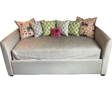 Pottery Barn Lewis Daybed in Custom Fabric