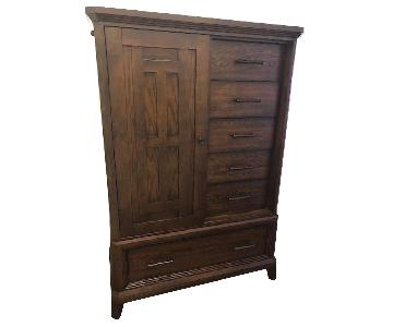 Raymour & Flanigan Wood Armoire