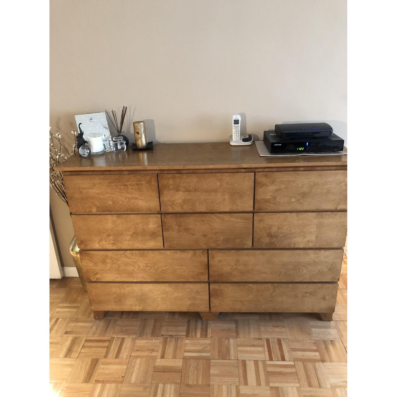 ... Gothic Cabinet Craft Mid Century 10 Drawer Dresser 1 ...
