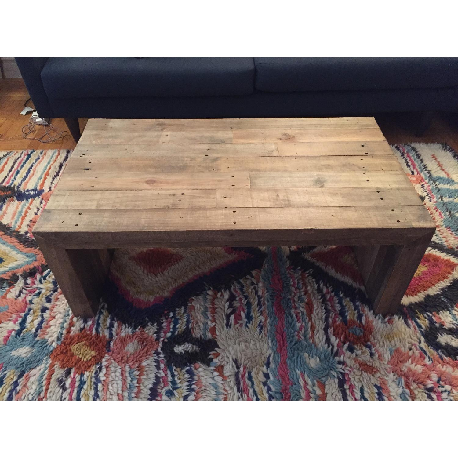 ... West Elm Emmerson Reclaimed Wood Coffee Table In Gray 5 ...