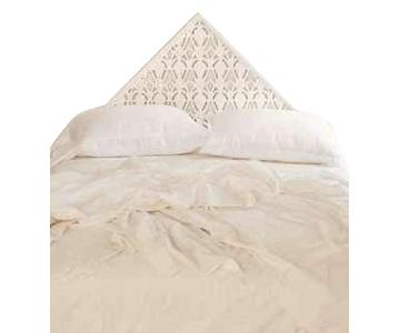 Urban Outfitters Sadie Carved Headboard