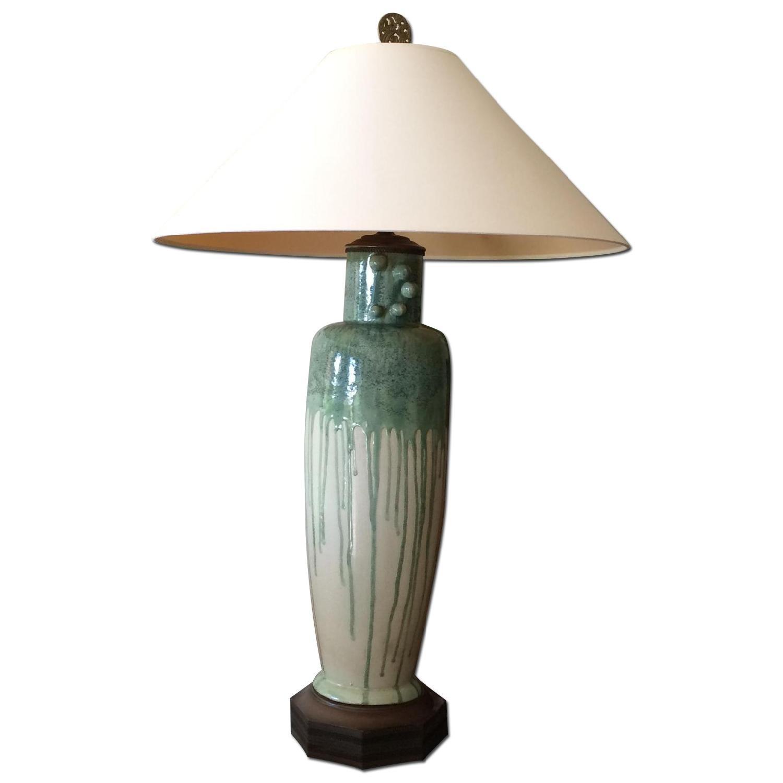 Antique Ceramic Lamp Aptdeco