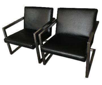 Room & Board Lira Leather Lounge Chair