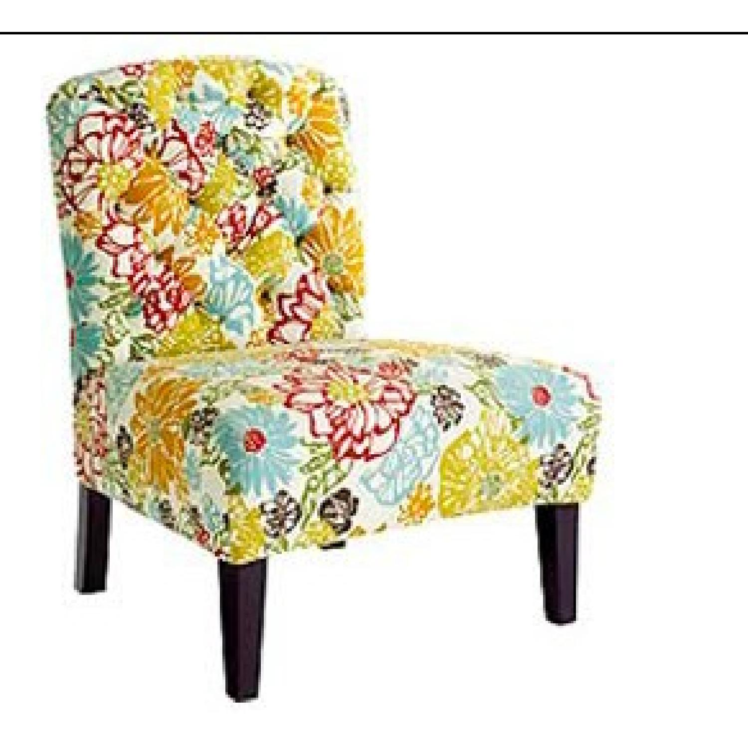 Pier 1 Floral Living Room Accent Chairs