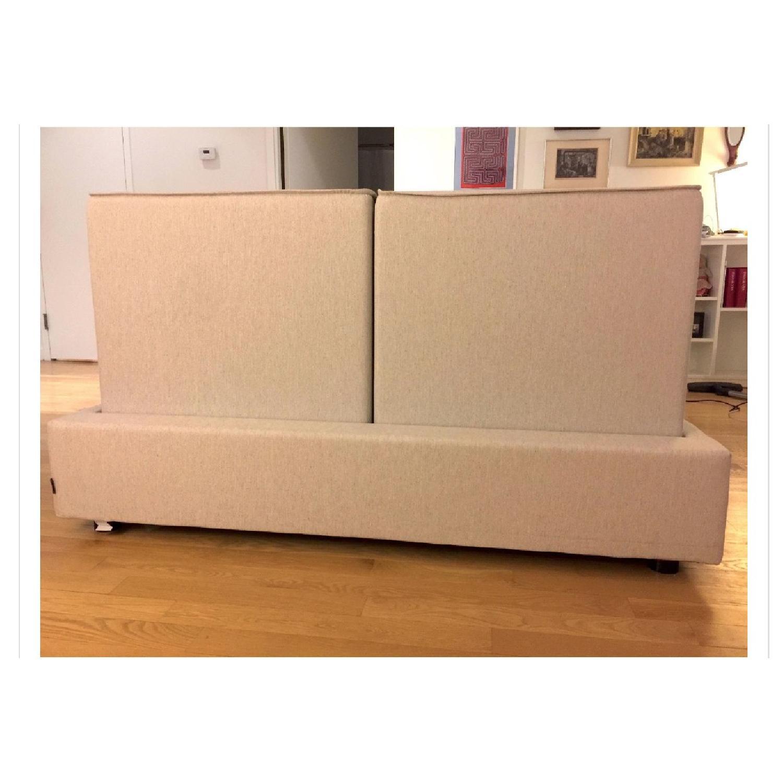 Calligaris Alameda Platform Bed w/ Storage & Headboard-3