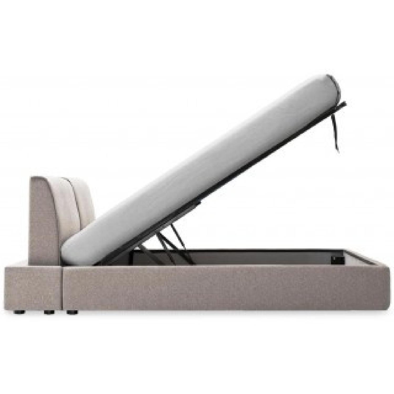 Calligaris Alameda Platform Bed w/ Storage & Headboard-4