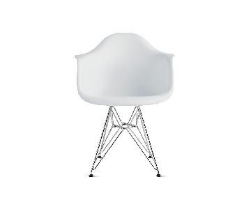 Design Within Reach Eames Molded Plastic Wire-Base Armchair