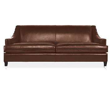 Room & Board Loring Leather Sofa