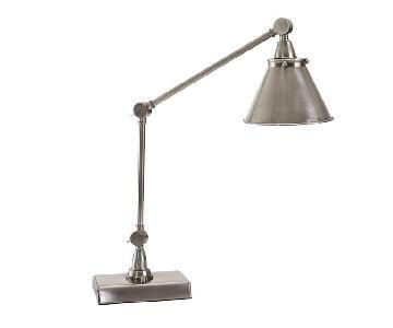 Pottery Barn Desk Lamp w/ Power Outlets