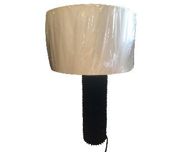 Lightology Black Punk Table Lamp