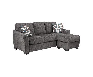 Jennifer Convertibles Bryce 2-Piece Chaise Sectional Sofa
