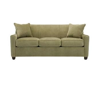 Raymour & Flanigan Green Sleeper Sofa