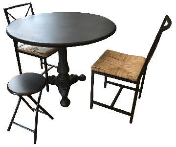 Beautiful Restoration Hardware Acanthus Dining Table