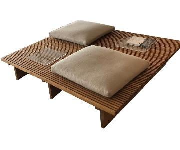 Atelier Prelati Custom Wood Bench