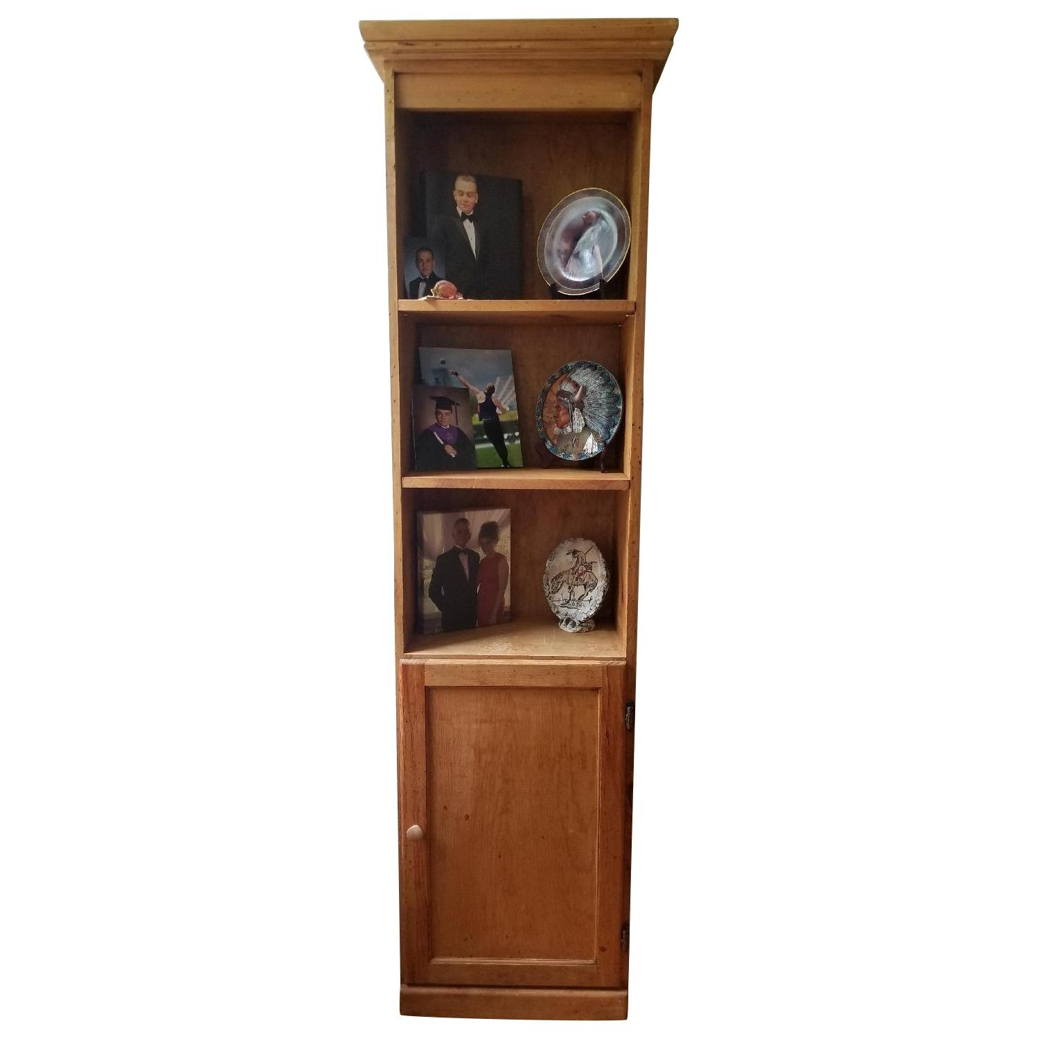 Gothic Cabinet Craft Pine Bookcase/Media Storage