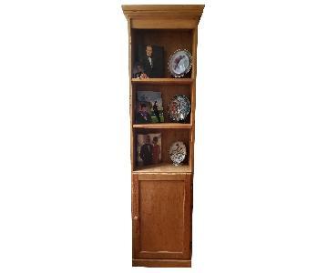 Gothic Cabinet Craft Pine Bookcase/Media Storage