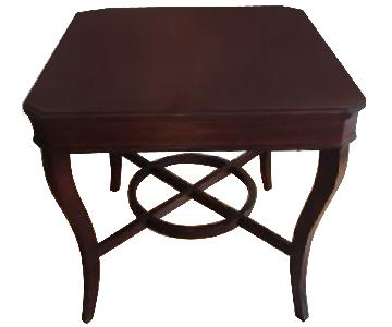 Raymour & Flanigan Tuscan Style Wood End Table