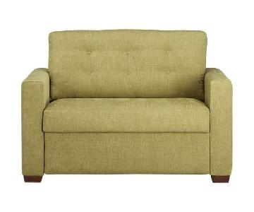 Crate & Barrel Allerton Twin Size Sleeper Sofa