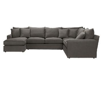 Room & Board Orson 4 Piece Sectional Sofa
