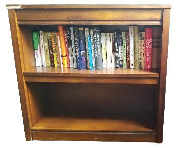 Crate & Barrel 2-Shelf Bookcase