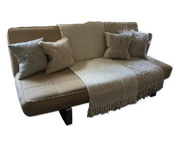 BoConcept Beige Sleeper Sofa