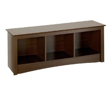 Latitude Run Penelope Mahogany Storage Bench ...