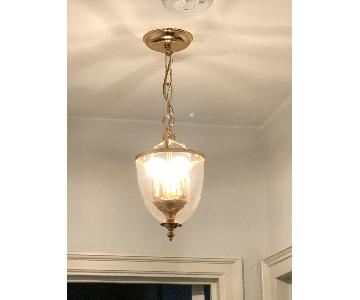 3-Light Glass Pendant Light Fixture