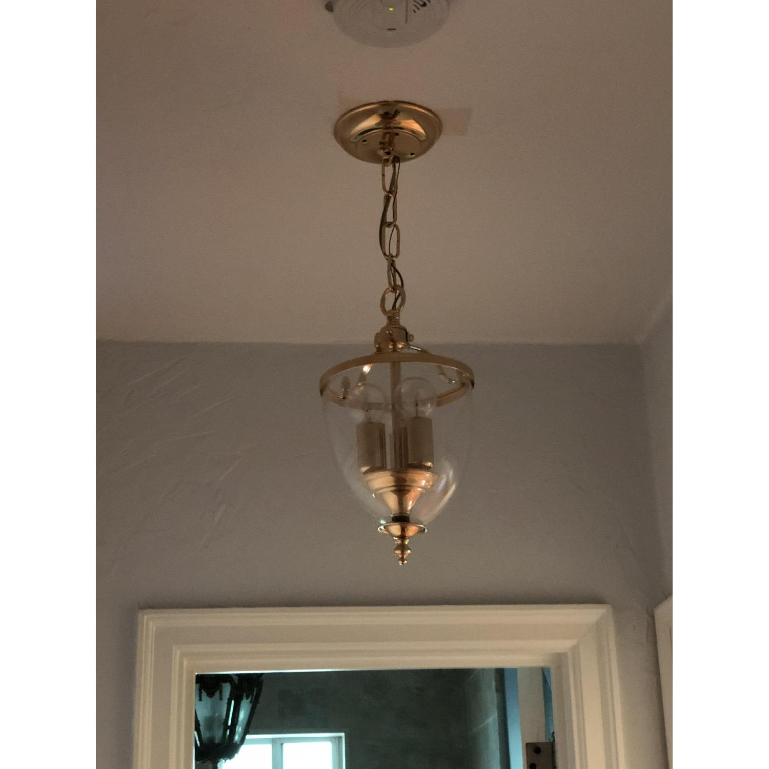 3-Light Glass Pendant Light Fixture-0