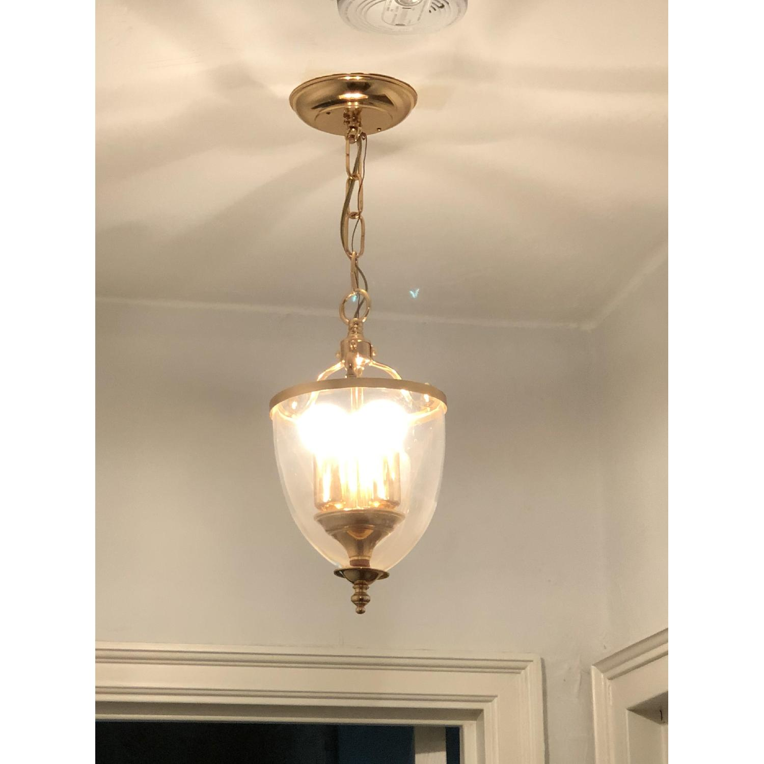 3-Light Glass Pendant Light Fixture-1