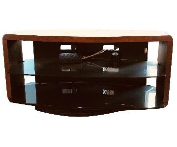 Jensen-Lewis Dark Wood TV Stand