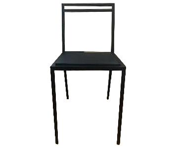 ABC Carpet and Home Steel Dining Chairs