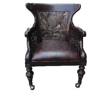 Lexington Double Caned Regency Bergere Chair