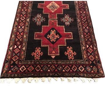 Hand Knotted Wool Area Rug