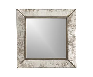 Crate & Barrel Dubois Small Square Wall Mirrors