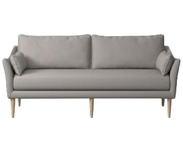 West Elm Antwerp Platinum Sofa