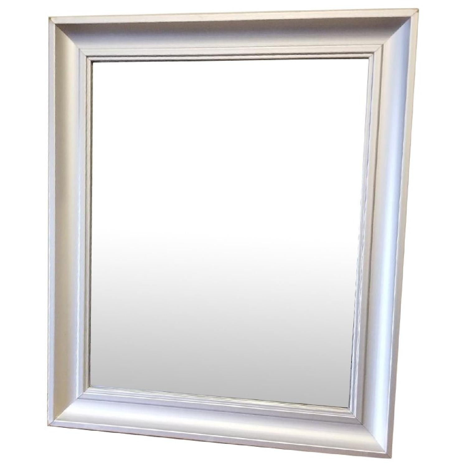 Silver Frame Wall/Table Mirror