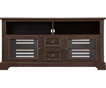 Whalen Furniture Cherry TV stand