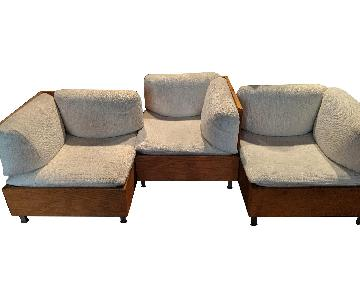 Bespoke 3-Piece Mid Century Sectional Sofa