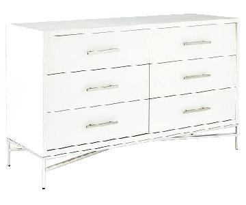 West Elm City Storage 6-Drawer Dresser in White