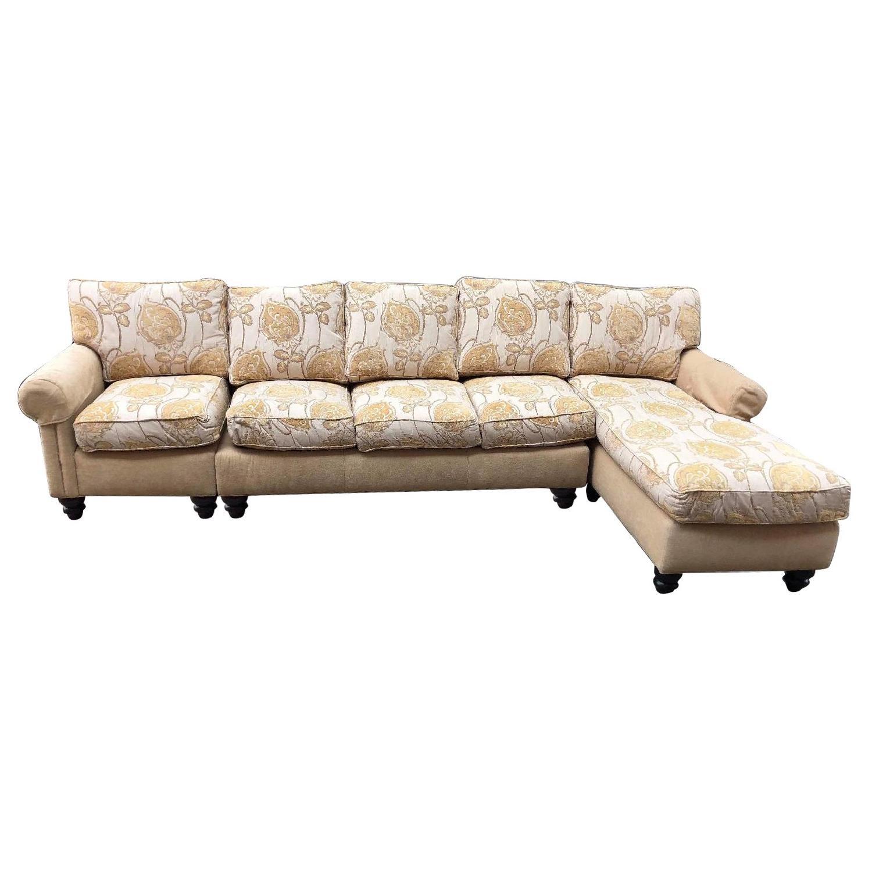Drexel Heritage 3 Piece Sectional Sofa Aptdeco