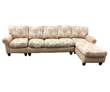 Drexel Heritage 3 Piece Sectional Sofa
