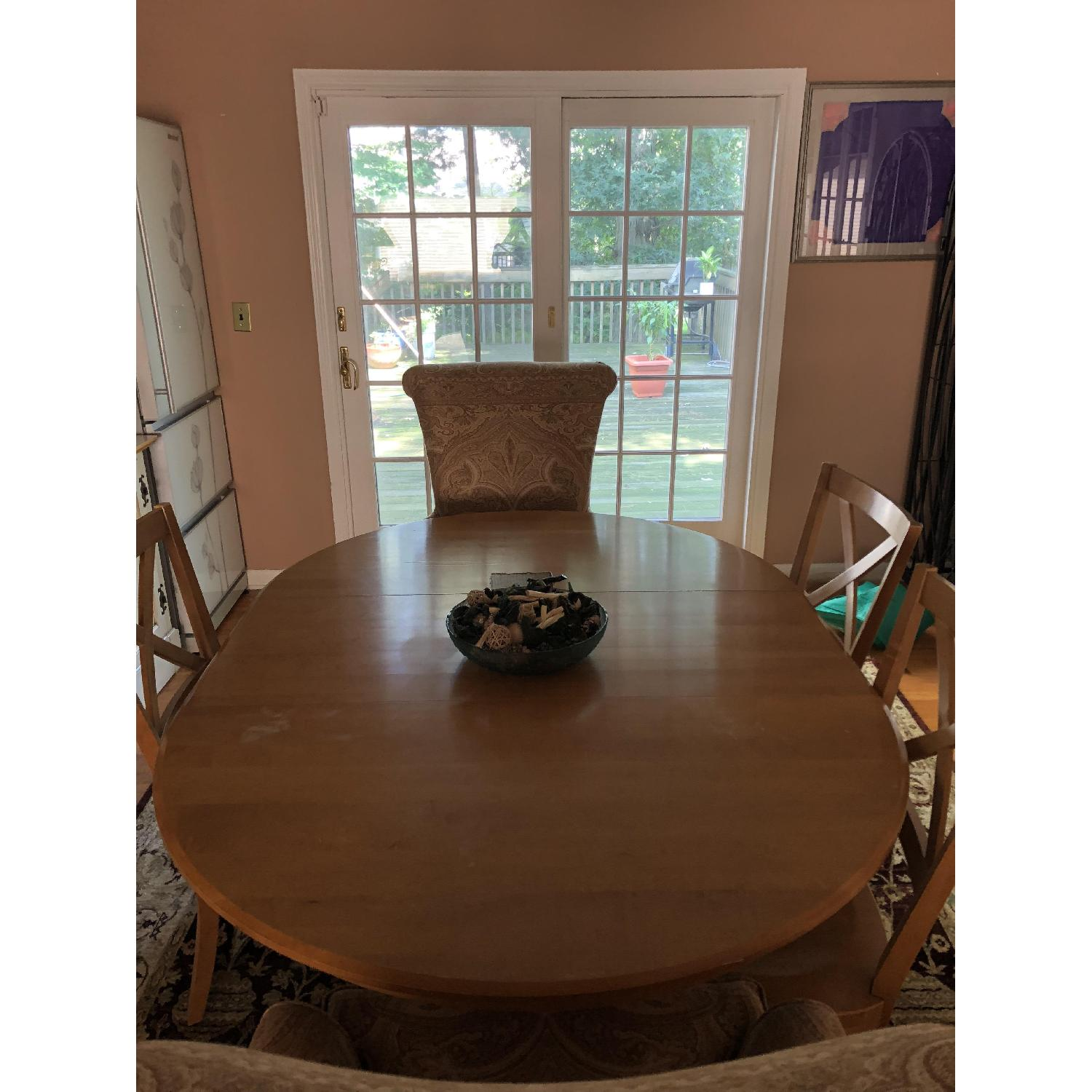 sc 1 st  AptDeco & Ethan Allen Dining Table w/ 4 Chairs - AptDeco