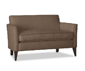 Pottery Barn Marcel Upholstered Mini Sofa