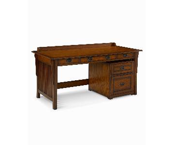 Macy's Sedona Desk & File Cabinet
