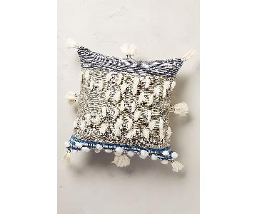 Anthropologie All Roads Design Collaged Majida Pillow