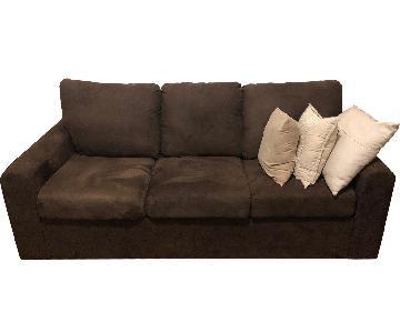 Home Reserve Dark Brown 3 Seat Sofa