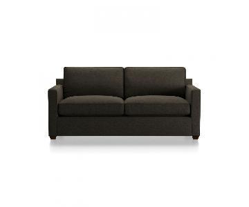 Crate & Barrel Davis Queen Pull Out Sofa