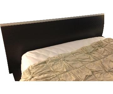 Queen Size Bed Frame in Espresso