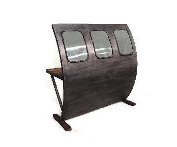 DesigneGallerie Edmon Glass Bar Counter