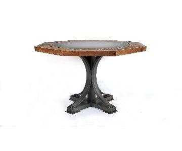DesigneGallerie Oliver Poker/Dining Table